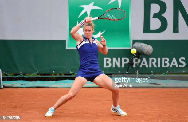 Pauline PARMENTIER Tennis Roland Garros 2014 Photo Dave WInter / Icon Sport
