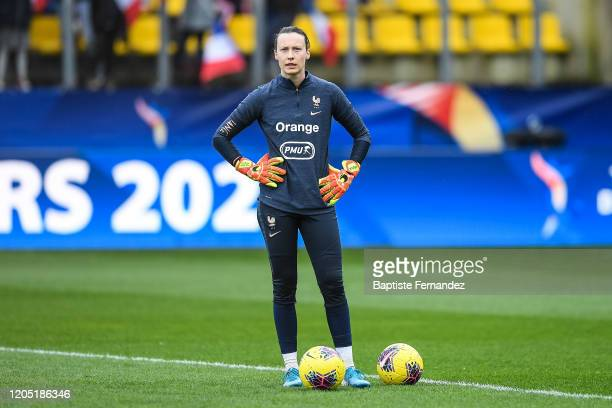 Pauline PEYRAUD MAGNIN of France before the Tournoi de France International Women's soccer match between France and Canada on March 4 2020 in Calais...