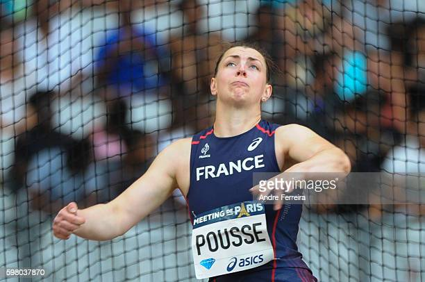 Pauline Pousse during the Meeting of Paris IAAF Diamond League 2016 at Stade de France on August 27 2016 in Paris France