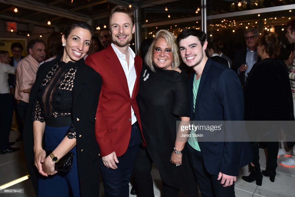 Pauline Reynak, Christoper Wheeldon, Joanna Fisher and Tim Stickney attend Joshua Beamish + MOVETHECOMPANY Premieres 'Saudade' in NYC at Brooklyn Academy of Music on October 11, 2017 in New York City.