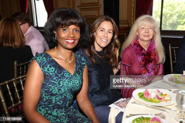 Pauline Willis Cristina Greeven Cuomo and NancyJane Loewy attend American Federation Of Arts 2019 Spring Luncheon at Metropolitan Club on June 4 2019...
