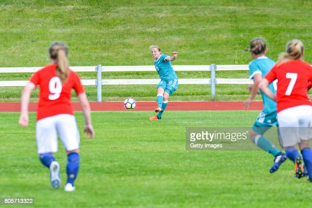 Pauline Wimmer of Germany during the Nordic Cup 2017 match between U16  Girl s Germany and U16 e3cf0cbfd96cb