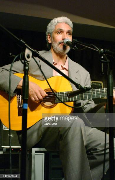 Paulinho Garcia during Fujitsu Jazz Elite 2004 Three For Brazil Perform Live June 14 2004 at Bar Queen in Iwaki Japan