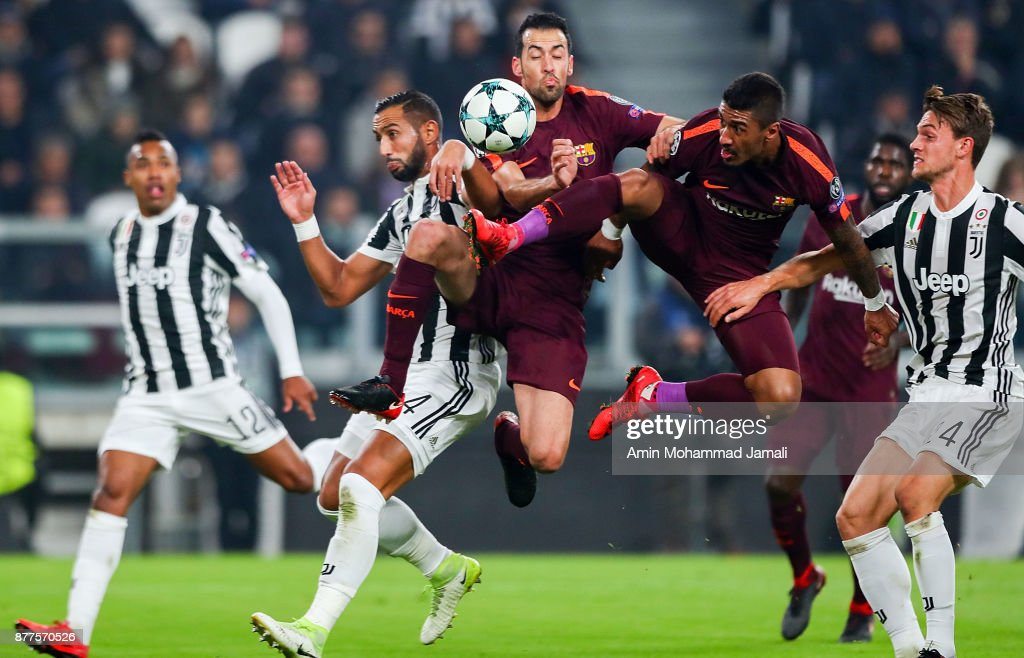 Juventus v FC Barcelona - UEFA Champions League : News Photo