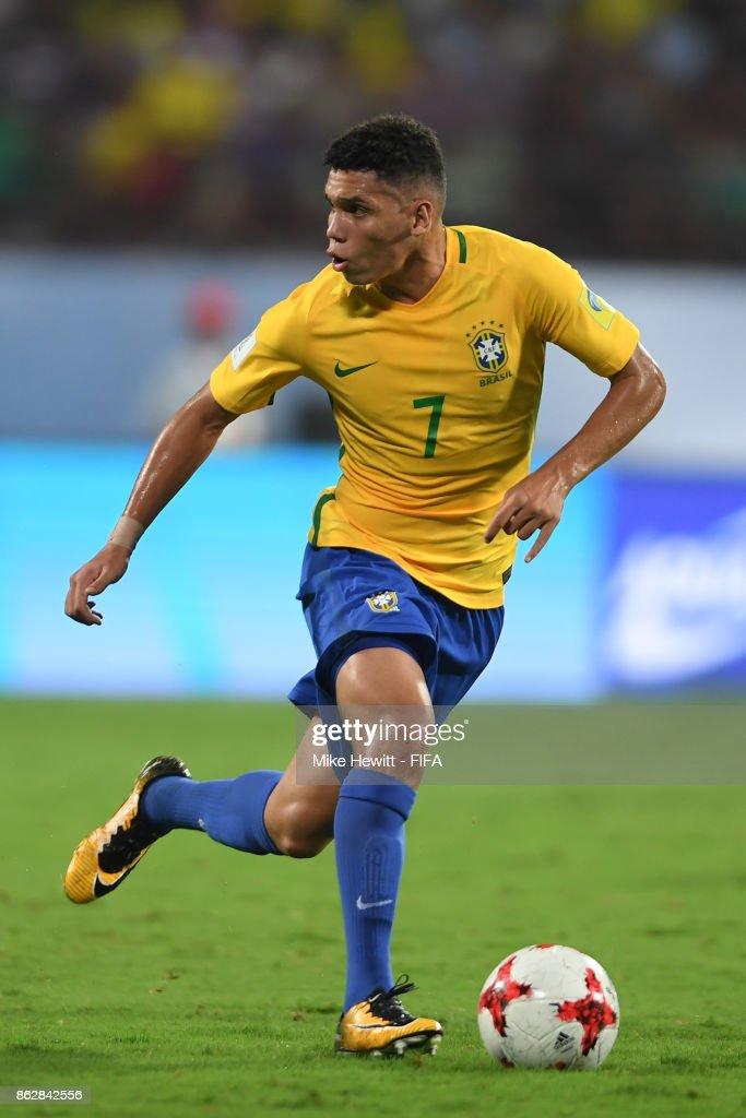 Brazil v Honduras - FIFA U-17 World Cup India 2017 Round of 16 : News Photo