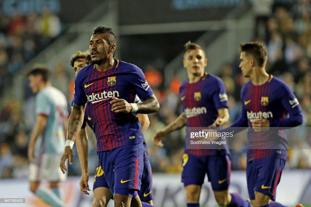Celta de Vigo v FC Barcelona - La Liga Santander : ニュース写真