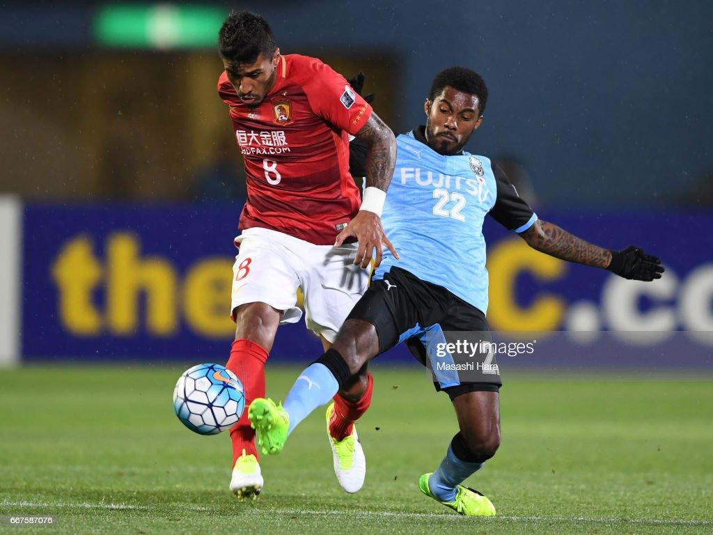 Kawasaki Frontale v Guangzhou Evergrande FC - AFC Champions League Group G : ニュース写真