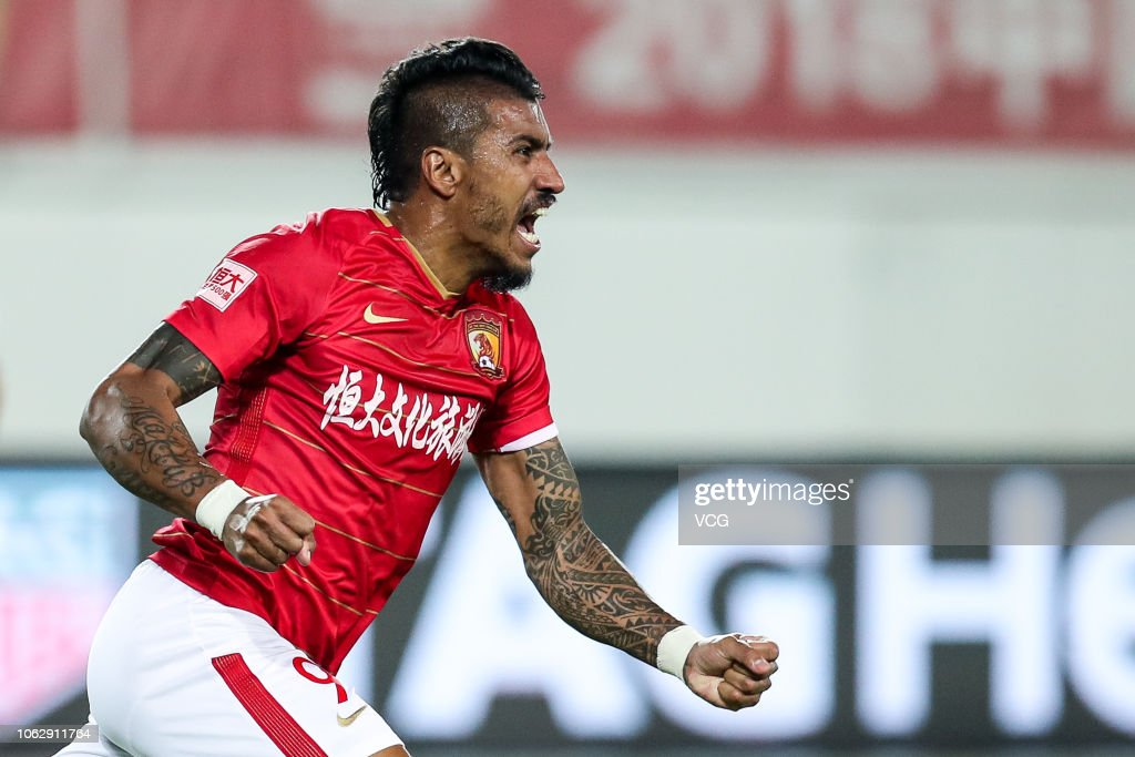2018 Chinese Super League - Guangzhou Evergrande v Shanghai SIPG : News Photo