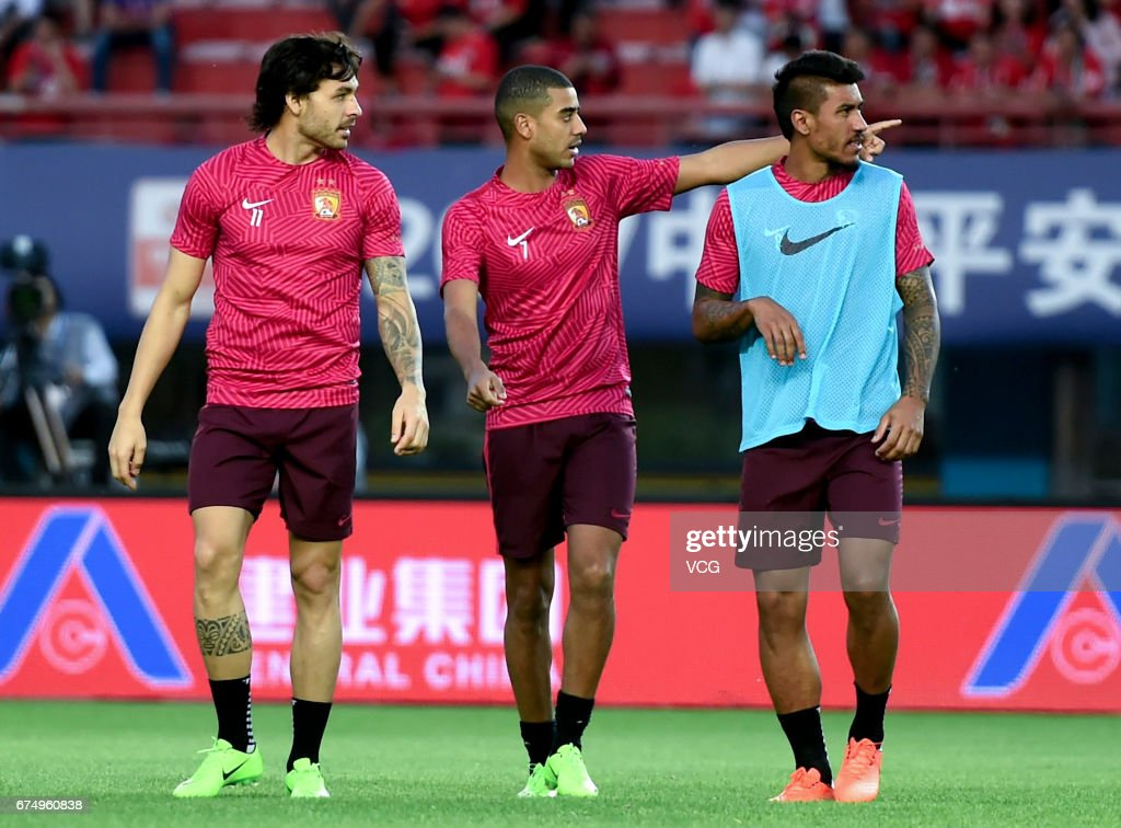 Henan Jianye v Guangzhou Evergrande - Chinese Super League : News Photo