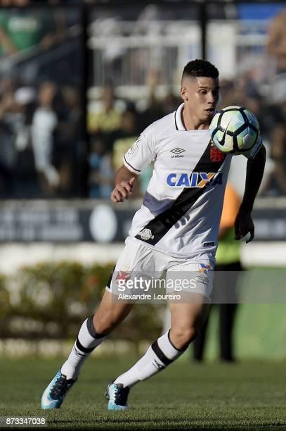 Paulinhoof Vasco da Gama in action during the match between Vasco da Gama and Sao Paulo as part of Brasileirao Series A 2017 at Sao Januario...