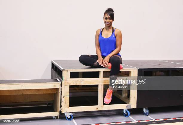 Paulini poses during rehearsals for The Bodyguard rehearsal on March 28 2017 in Sydney Australia