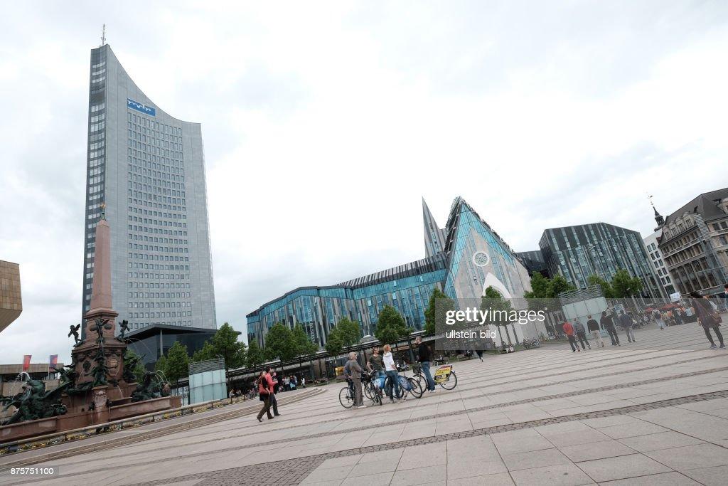 Paulinum In Leipzig Am Augustusplatz Gebaude Der Universitat News Photo Getty Images