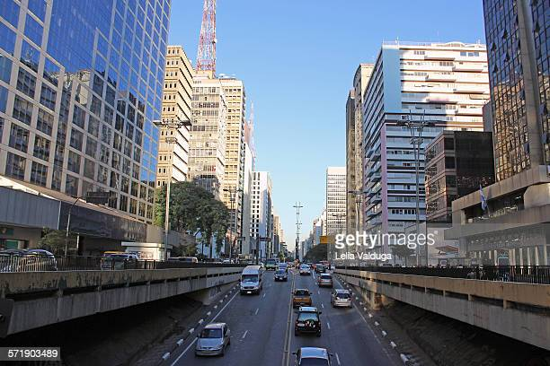 Paulista Avenue Heart Of Sao Paulo