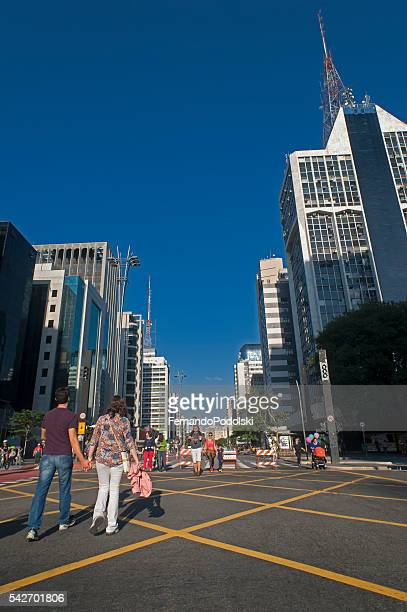 Avenida Paulista no Brasil