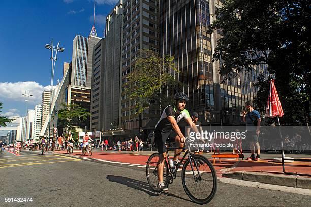 Paulista Avenue in Brazil