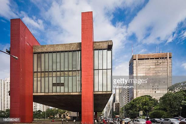 Paulista street, São Paulo Museum of Art or MASP