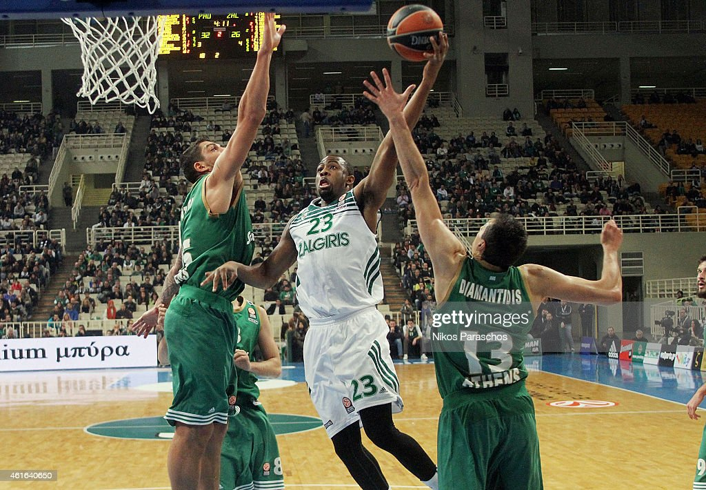 Panathinaikos Athens v Zalgiris Kaunas - Turkish Airlines Euroleague Top 16