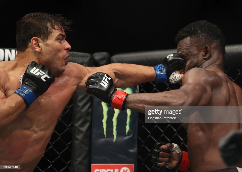UFC 226: Hall v Costa : News Photo