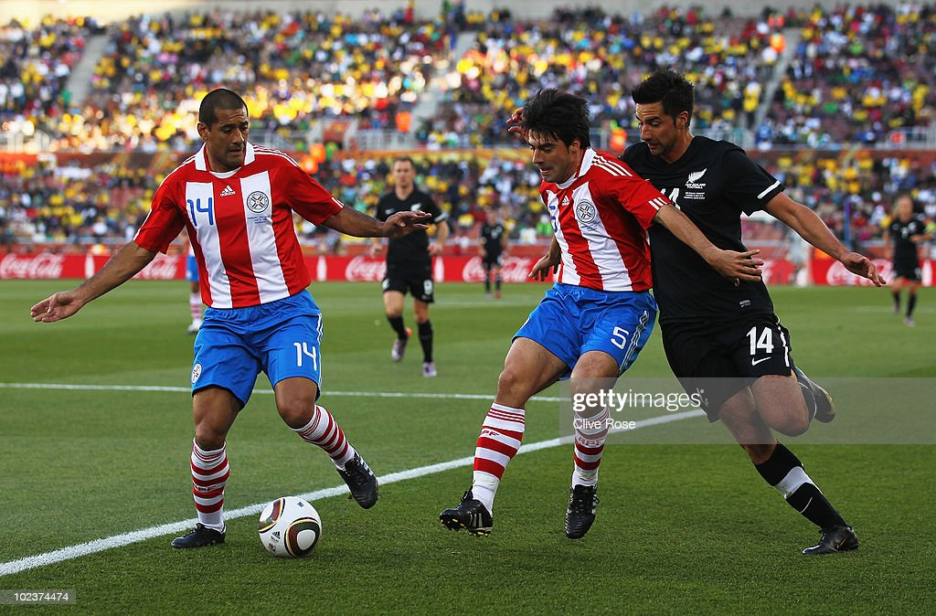 Paraguay v New Zealand: Group F - 2010 FIFA World Cup