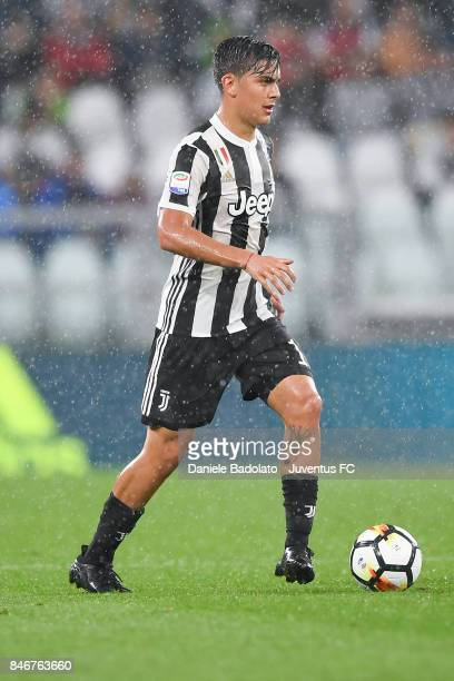 Paulo Dybala during the Serie A match between Juventus and AC Chievo Verona on September 9 2017 in Turin Italy
