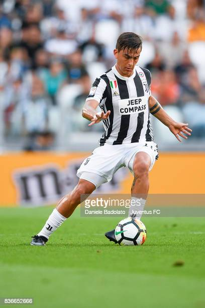 Paulo Dybala during the Serie A match between Juventus and Cagliari Calcio at Allianz Stadium on August 19 2017 in Turin Italy