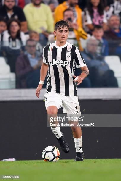 Paulo Dybala during the Serie A match between Juventus and Torino FC on September 23 2017 in Turin Italy