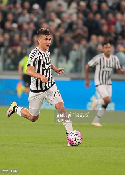 Paulo Dybala during the Serie A match betweenJuventus FC and SS Lazio at Juventus Stafium on april 20 2016 in Torino Italy