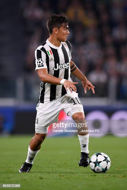 Paulo Dybala during the UEFA Champions League group D match between Juventus and Olympiakos Piraeus at Allianz Stadium on September 27 2017 in Turin...