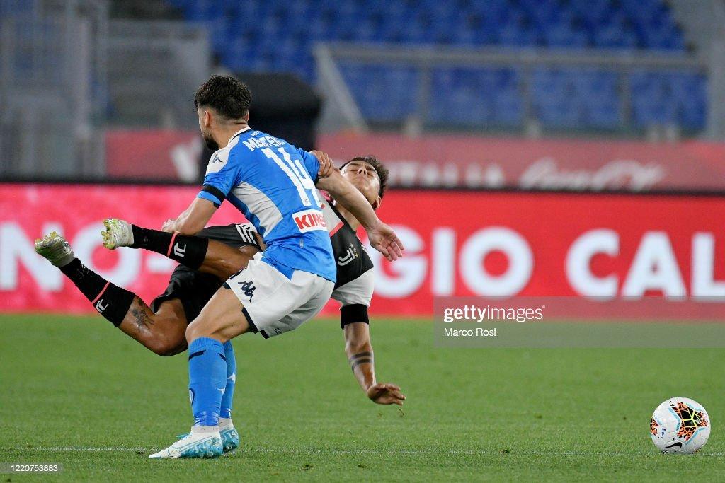 Juventus v SSC Napoli - Coppa Italia: Final : Nachrichtenfoto
