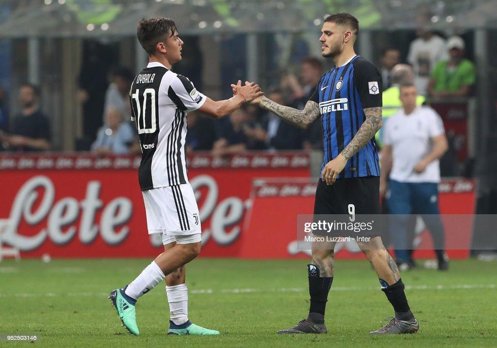 FC Internazionale v Juventus - Serie A : News Photo