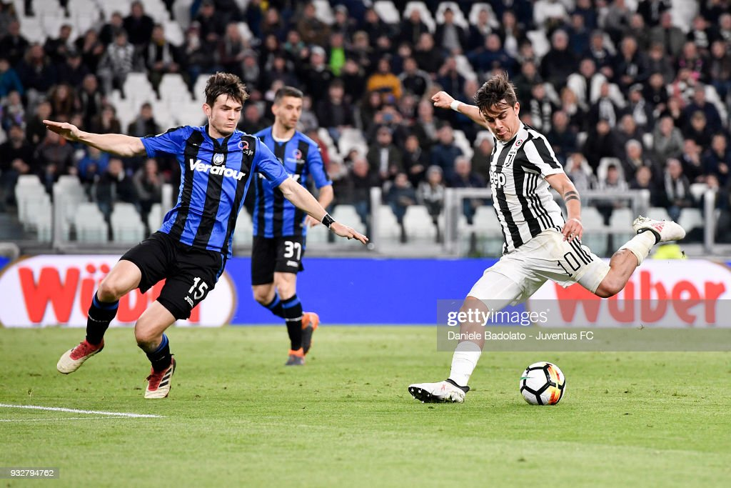 Paulo Dybala of Juventus during the serie A match between Juventus and Atalanta BC on March 14, 2018 in Turin, Italy.