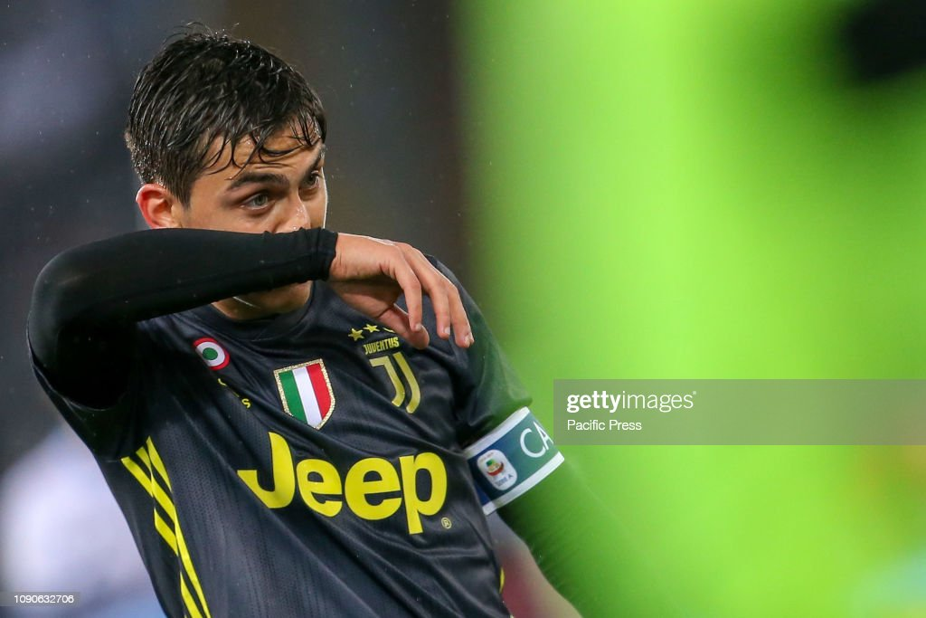 half off 71430 98daa Paulo Dybala of Juventus during the Serie A match between SS ...