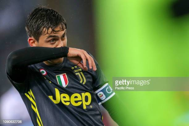 Paulo Dybala of Juventus during the Serie A match between SS Lazio and Juventus at Stadio Olimpico in Rome Italy Juventus won the match 21
