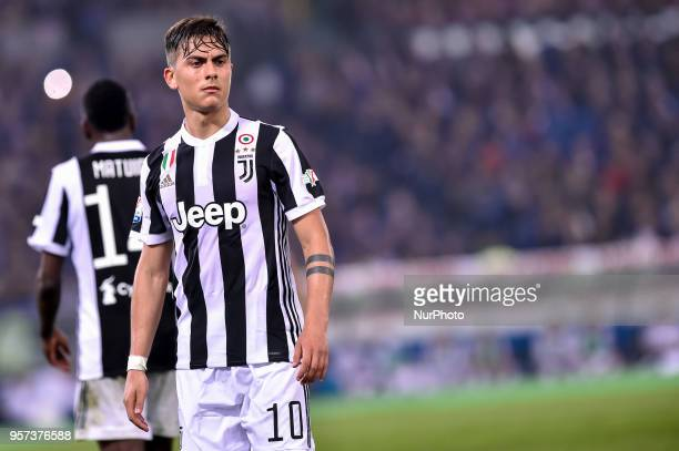 Paulo Dybala of Juventus during the TIM Cup Coppa Italia final match between Juventus and AC Milan at Stadio Olimpico Rome Italy on 9 May 2018