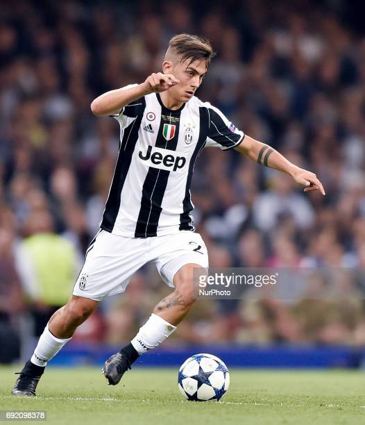 Paulo Dybala of Juventus during the UEFA Champions League Final match between Real Madrid and Juventus at the National Stadium of Wales Cardiff Wales...