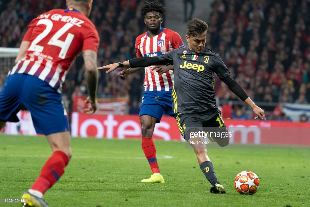 Club Atletico de Madrid v Juventus - UEFA Champions League Round of 16: First Leg : News Photo