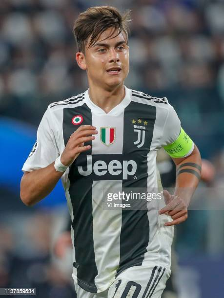 Paulo Dybala of Juventus FC during the UEFA Champions League quarter final match between Juventus FC and Ajax Amsterdam at the Allianz Arena on April...