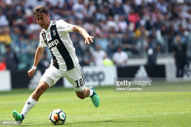Paulo Dybala of Juventus FC in action during the Serie A football match between Juventus FC and Hellas Verona Fc Juventus Fc wins 21 over Hellas...