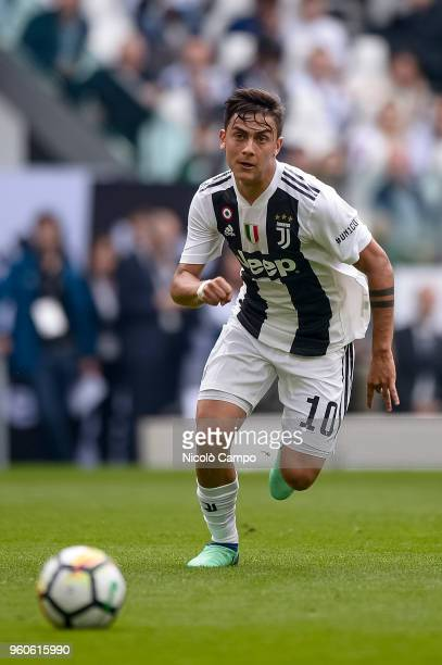 Paulo Dybala of Juventus FC in action during the Serie A football match between Juventus FC and Hellas Verona FC Juventus FC won 21 over Hellas...