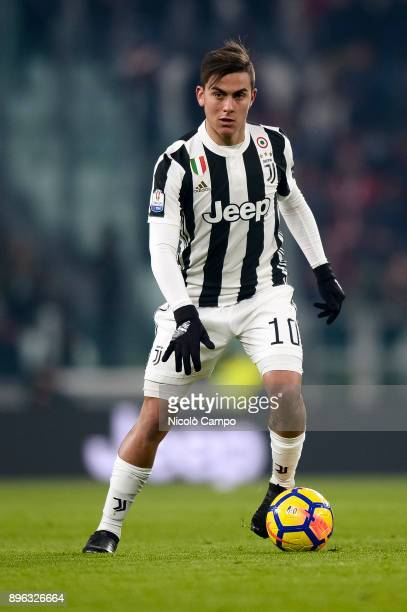 Paulo Dybala of Juventus FC in action during the TIM Cup football match between Juventus FC and Genoa CFC Juventus FC won 20 over Genoa CFC