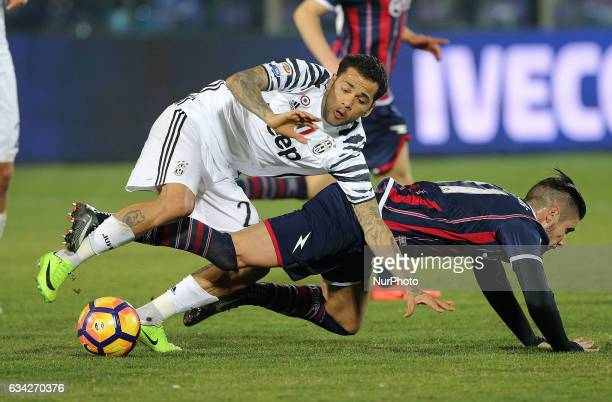 Paulo Dybala of Juventus in action during the Serie A match between FC Crotone and Juventus FC at Stadio Comunale Ezio Scida on February 8 2017 in...