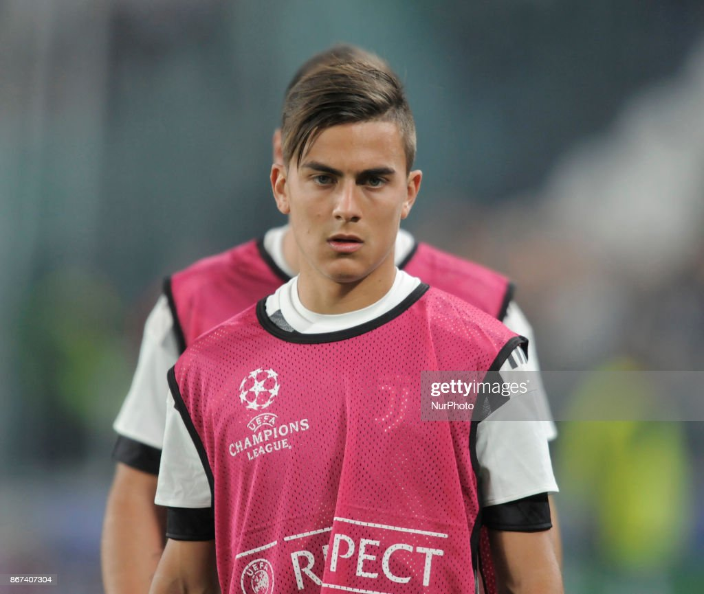 quality design 6f6f5 5fd17 Paulo Dybala of Juventus player during the warm-up before ...