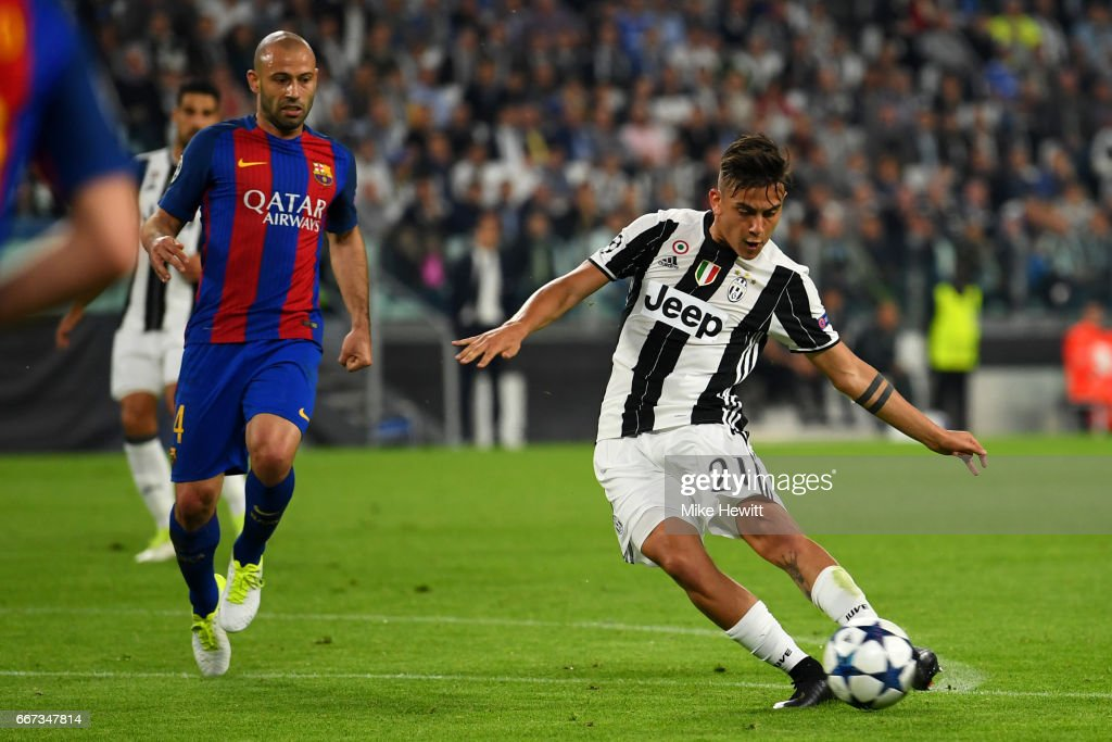 Juventus v FC Barcelona - UEFA Champions League Quarter Final: First Leg