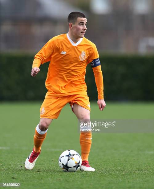 Paulo Estrela of FC Porto during the UEFA Youth League group H match between Tottenham Hotspur and FC Porto on March 13 2018 in Enfield United Kingdom