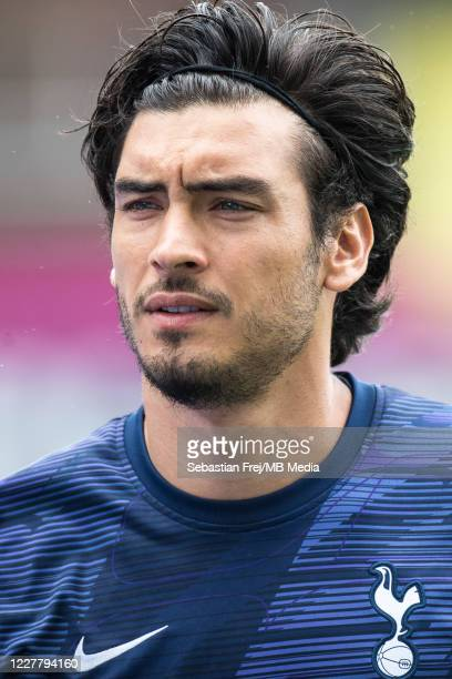 Paulo Gazzaniga of Tottenham Hotspur looks on during the Premier League match between Crystal Palace and Tottenham Hotspur at Selhurst Park on July...