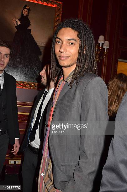 Paulo Goude attends the 'Don't Tell My Booker' Supports La Croix Rouge Dinner Paris Fashion Week Womenswear Fall/Winter 2012 at the Hotel...