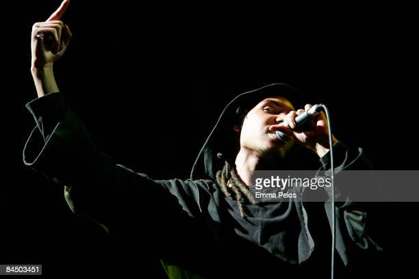 Paulo Goude performs at The Roundhouse on January 27 2009 in London England