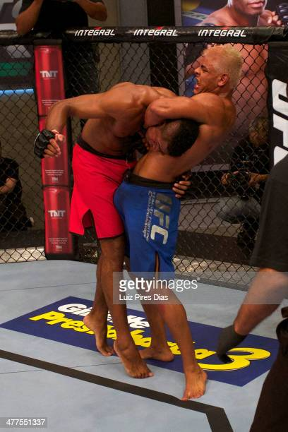 Paulo Henrique Costa submits Jose Roberto Rocha during their elimination fight for season three of The Ultimate Fighter Brazil on January 12, 2014 in...