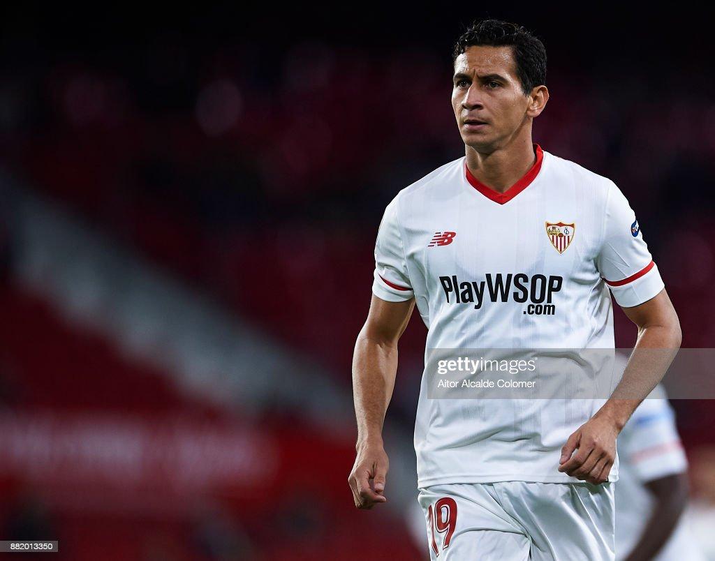 Sevilla vs Cartagena - Copa Del Rey : News Photo