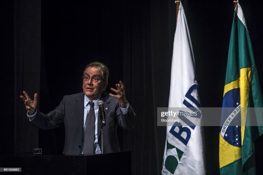 BNDES New CEO Takes Office Pledging To Meet Demand For Credit : News Photo